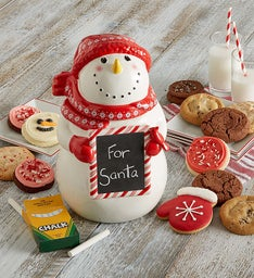 Collector's Edition Snowman Cookie Jar
