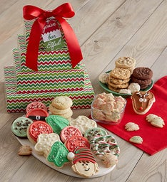 You've Been Elfed Bakery Gift Tower