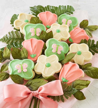 Long Stemmed Cookie Flowers