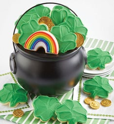 St Patrick's Day Good Luck Pot