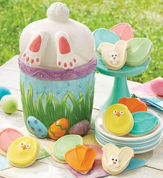 Collector's Edition Easter Bunny Cookie Jar