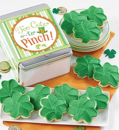 Too Cute to Pinch St Patrick39s Day Gift Tin