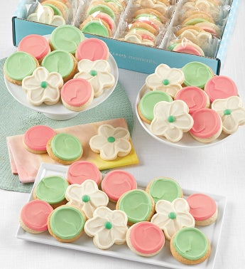 Buttercream Frosted Cut-out Cookies - 72