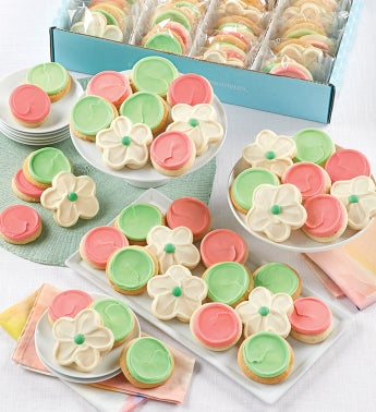 Buttercream Frosted Cut-out Cookies - 100