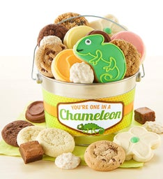 You're One in a Chameleon Treats Pail