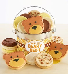 You're The Beary Best Cookie Pail