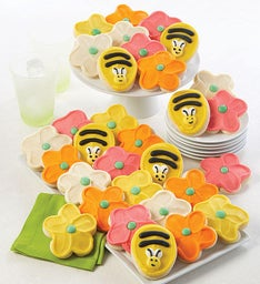 Buttercream Frosted Spring Cut-out Cookies