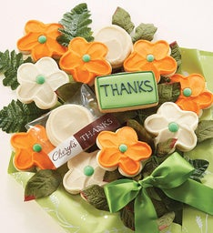 Cheryl39s Thank You Cookie Flowers