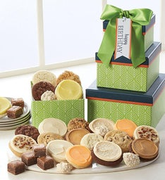Happy Birthday Botanical 3 Box Gift Tower