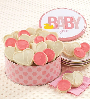 Sweet Baby Girl Gift Tin