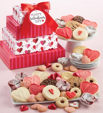 Valentines Day Bakery Gift Tower