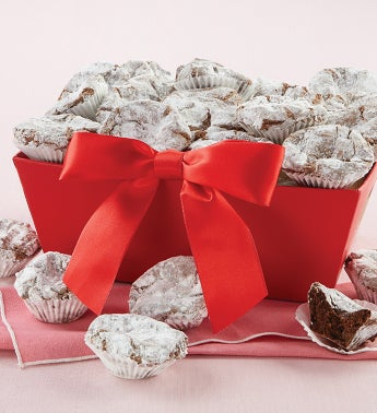 Valentine Truffle Cookie Tray Gift