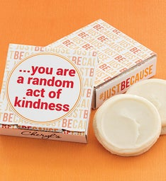 Just Because Cookie Card - Random Act of Kindness