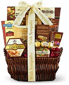Sympathy Gift Baskets & Food