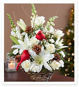 Simple Meets Festive with our Deck the Halls Centerpiece.