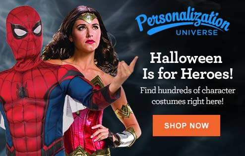 Personalization Universe Halloween is for Heroes!