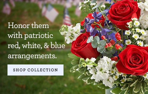 Red, White, & Blue Arrangements