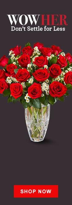 Premium Long Stemmed Red Roses