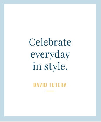 Celebrate every day in style