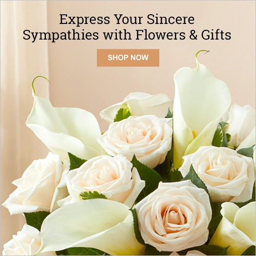 Express Your Sincere Sympathies with Flowers & Gifts