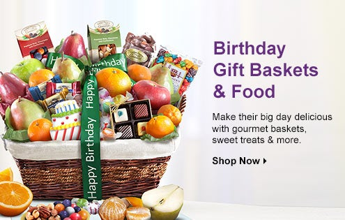 Birthday Gift Baskets and Food