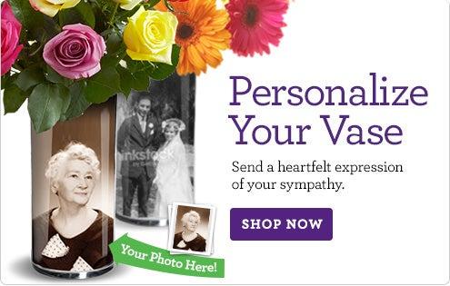 Sympathy Vase Expression