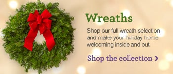 Shop Our Holiday Wreaths Collection