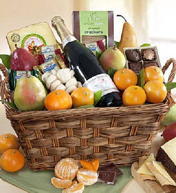 Fruit  Gourmet Gift Basket