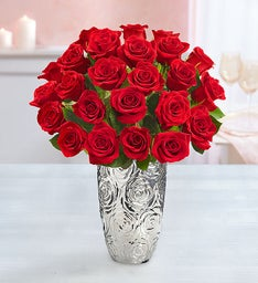 Two Dozen Stem Red Roses