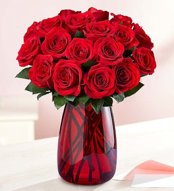Red Roses, 18 Stems