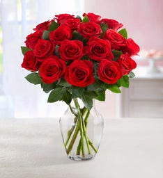 Red Roses Bouquet, 18 stems