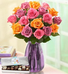 Sorbet Roses for Mom, 18-36 Stems