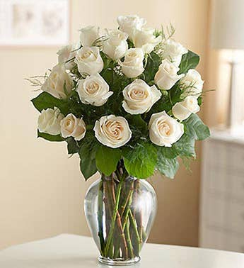Rose Elegance™ Premium Long Stem White Roses