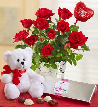 Love you gift set 1800flowers 101191 love you gift set negle Image collections