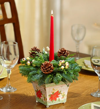Vintage Holiday Centerpiece