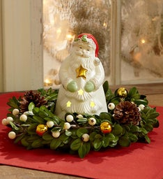 Santa's Sparkle Centerpiece by Lenox®