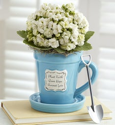 Inspirational Flower Pot Mug