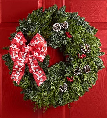 Festive Holiday Wreath- 20