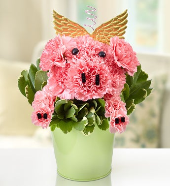 Piggy Flower Pail™