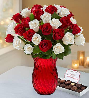 Peppermint Rose Bouquet 18-36 Stems