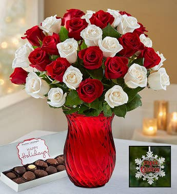 Peppermint Roses 18-36 Stems