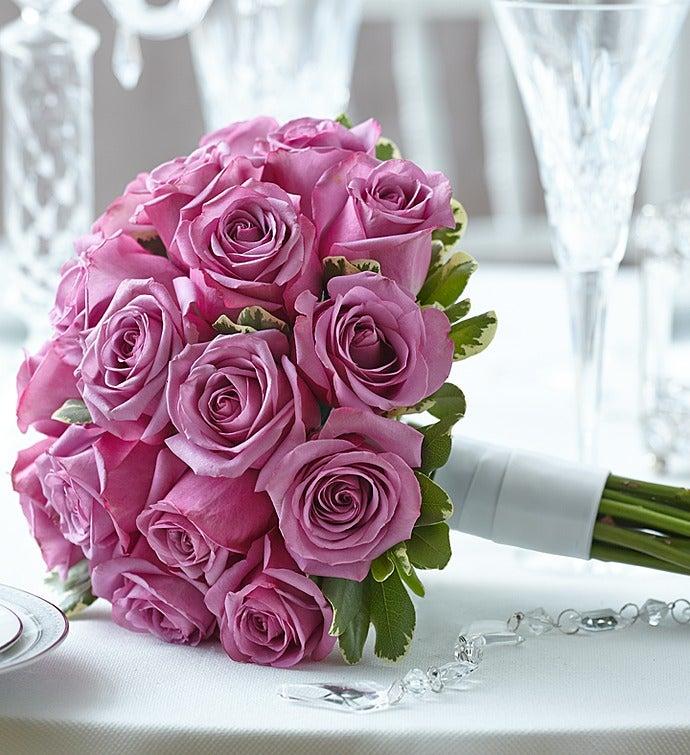 Purple Elegance Rose Bouquet Medium