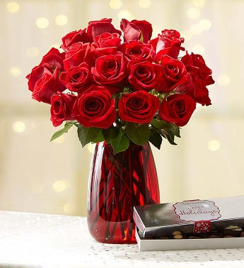 Merry Red Roses: Buy 12, Get 12 Free