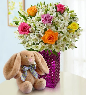 Baby Bouquet with Bunny
