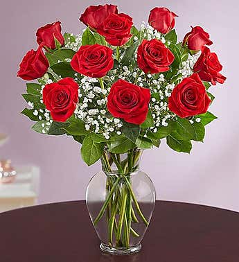 Rose Elegance™ Premium Red Roses