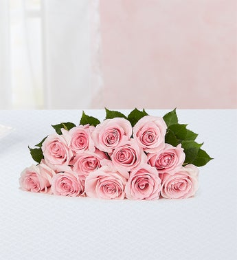 Pink Petal Roses 12 Stems, Bouquet Only