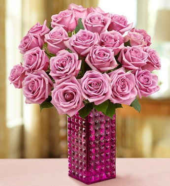 Passion for Purple Roses 12-24 Stems