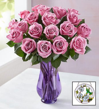 Mothers Day Passion for Purple Roses