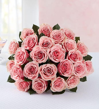Pink Roses, 12 – 24 Stems  24 Stems Bouquet