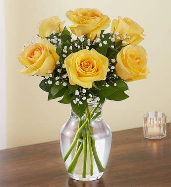 Love's Embrace™ Yellow Roses